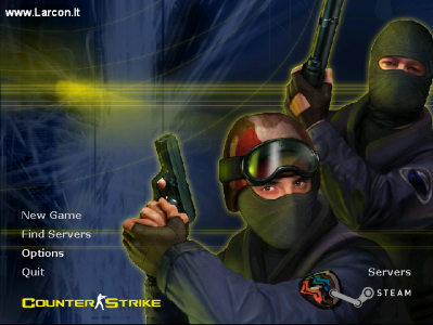 Counter-Strike 1.6 BOOST Client background Screen-Shot.
