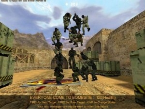 screenshot of CS 1.6 free version gameplay number 2.