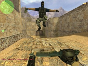 screenshot of CS 1.6 free version gameplay number 1.